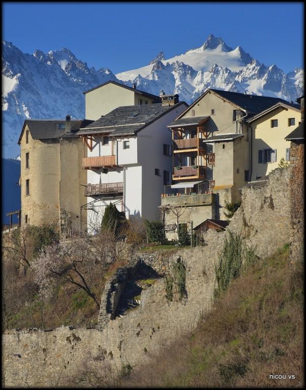Suisse Valais Saillon