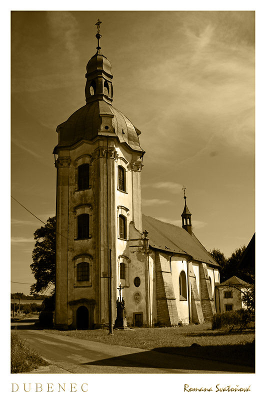 St Josef Church, kostel Sv. Josefa Dubenec