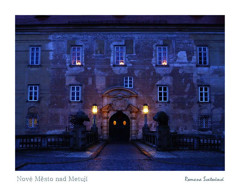 Entrance gate, chateau Nové Město nad Metují