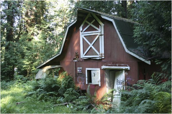 a small barn