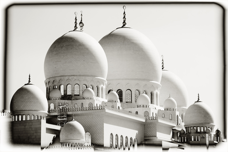 Mosque of Abu Dhabi