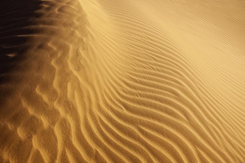 Sahara desert sand pattern