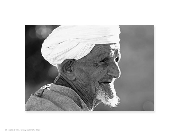 Arab man with turban
