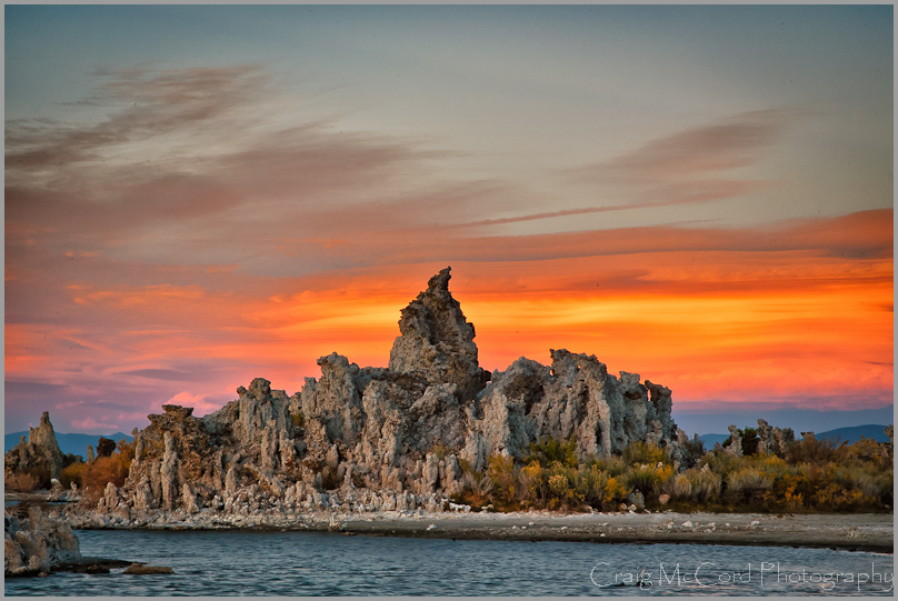 Tufa formations at South Tufa Beach, Mono Lake, CA
