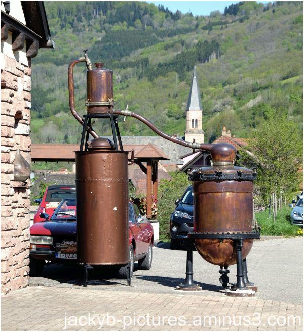 Distillerie Alsacienne !