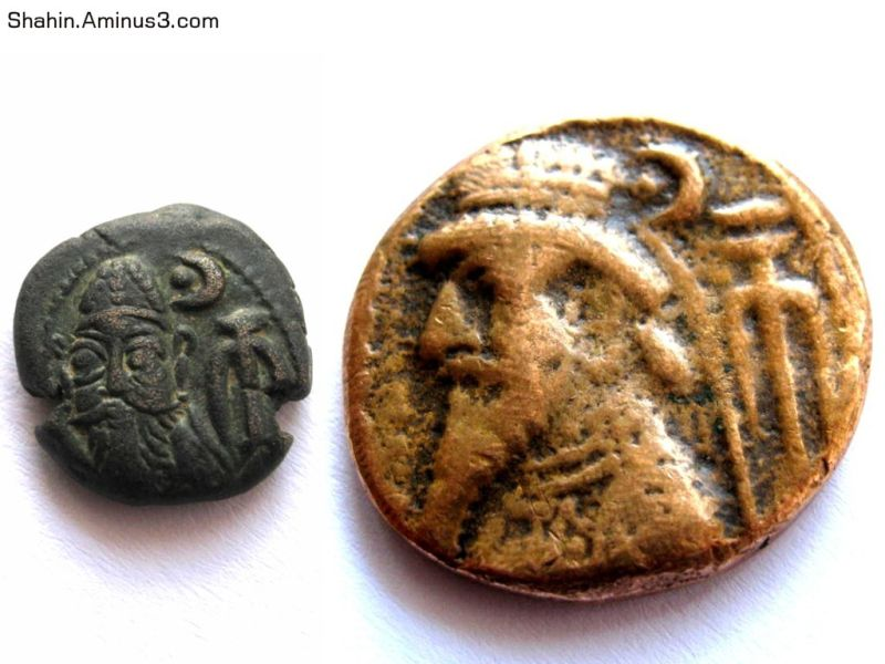 Elam Coins  from 2200 years ago