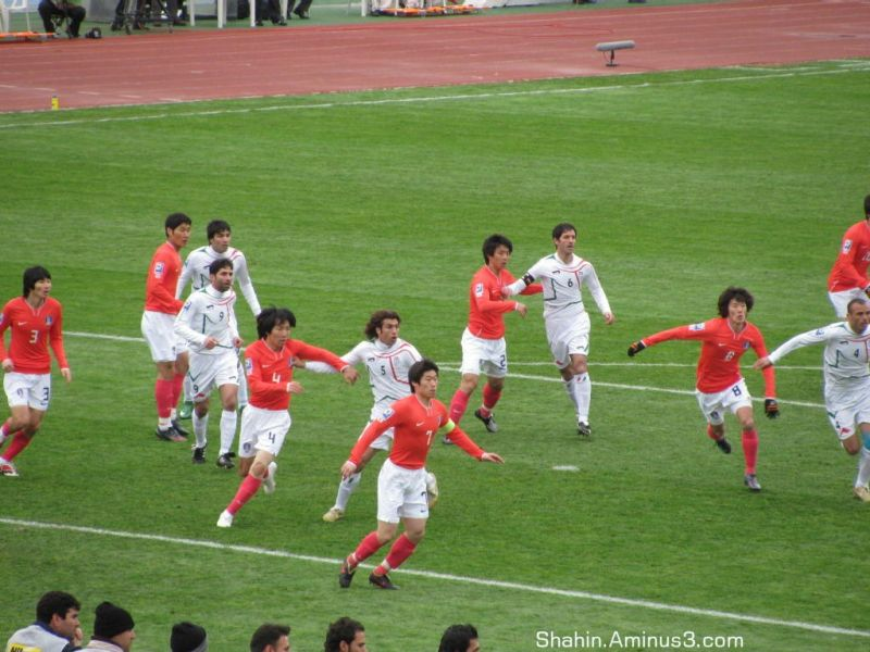 Iran  1-1  South Korea - 2010 WC Qualify 01