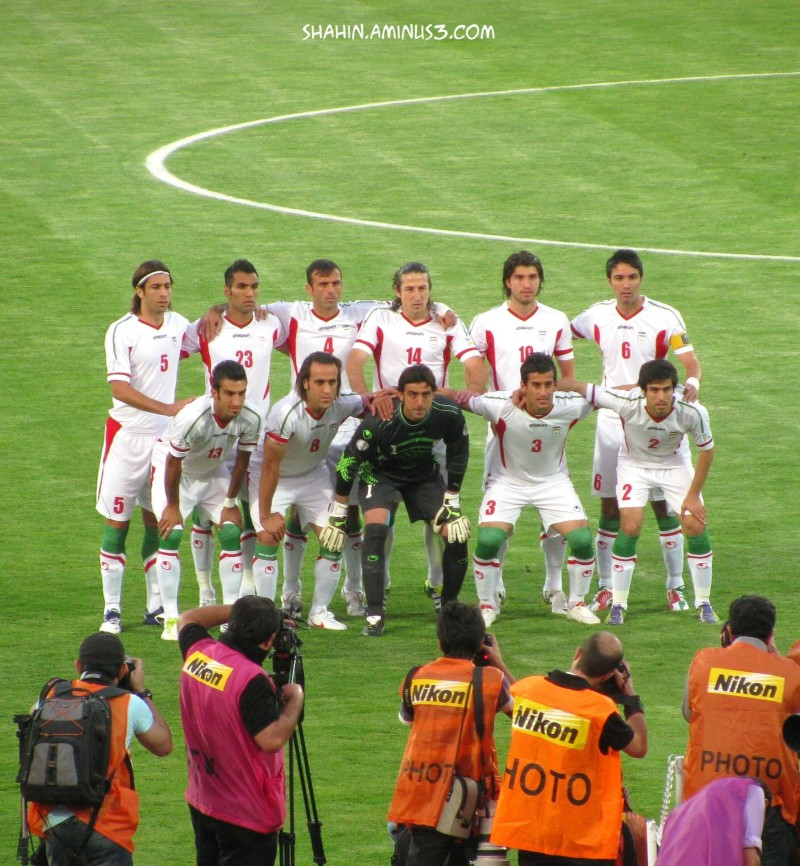 Iran National Team Against Qatar