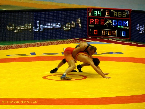 Iran Premier League Wrestling 01