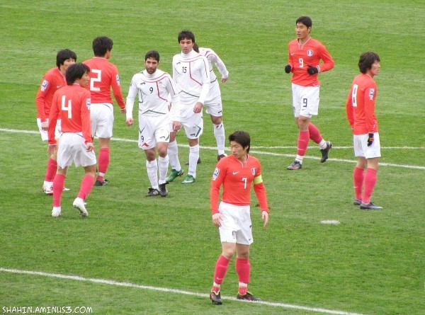 Iran 1-1 South Korea (2010 World Cup Qualify)