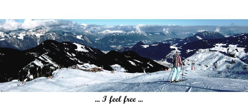 I feel free ......