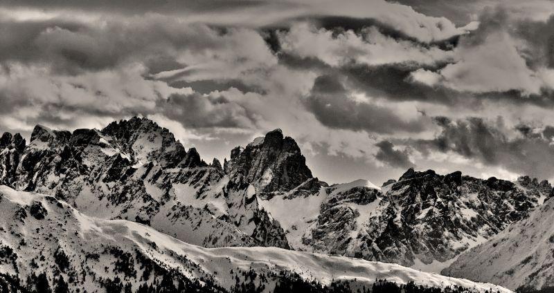 ... the Dolomites ...