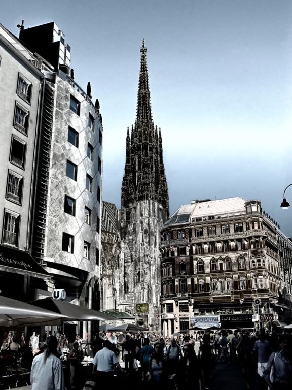 ... Stephansdome in Vienna ...
