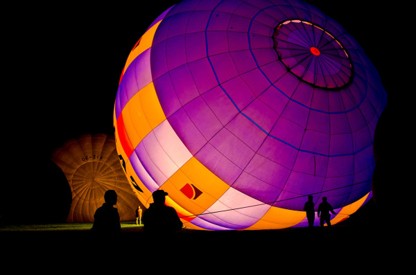 ... balloon glow ...  ( IV)