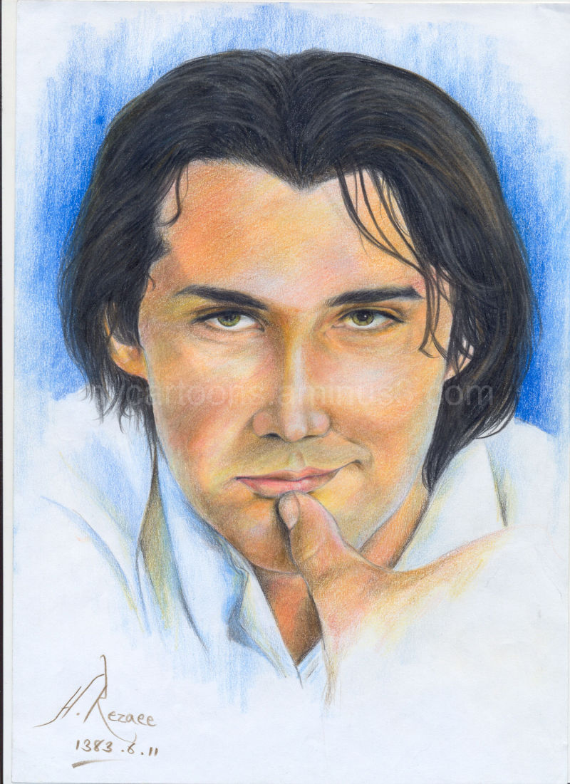 Color Portrait Drawings Drawing Using Colored Pencils
