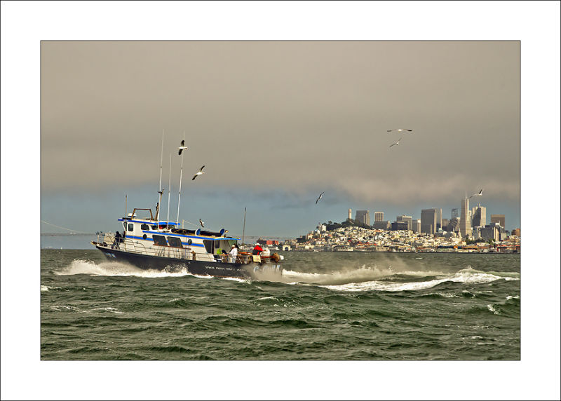 San Francisco fish boat