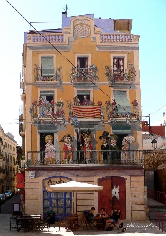 Painted Facade, Taragonna