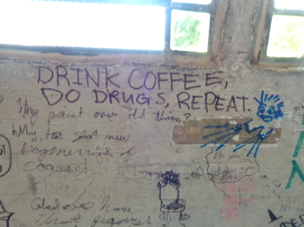 Drink coffee, do drugs, repeat