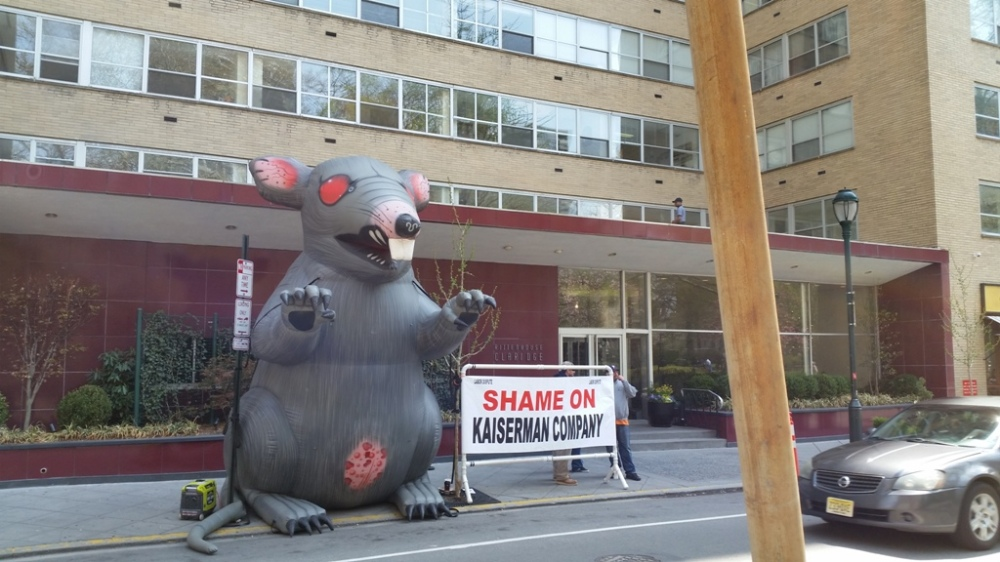 Scabby the rat