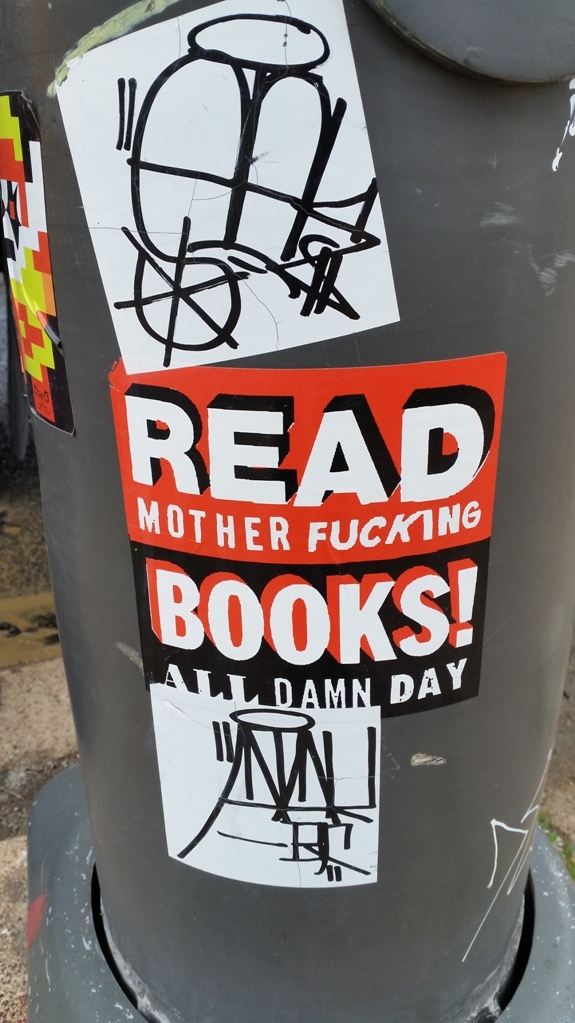 Read motherfucking books
