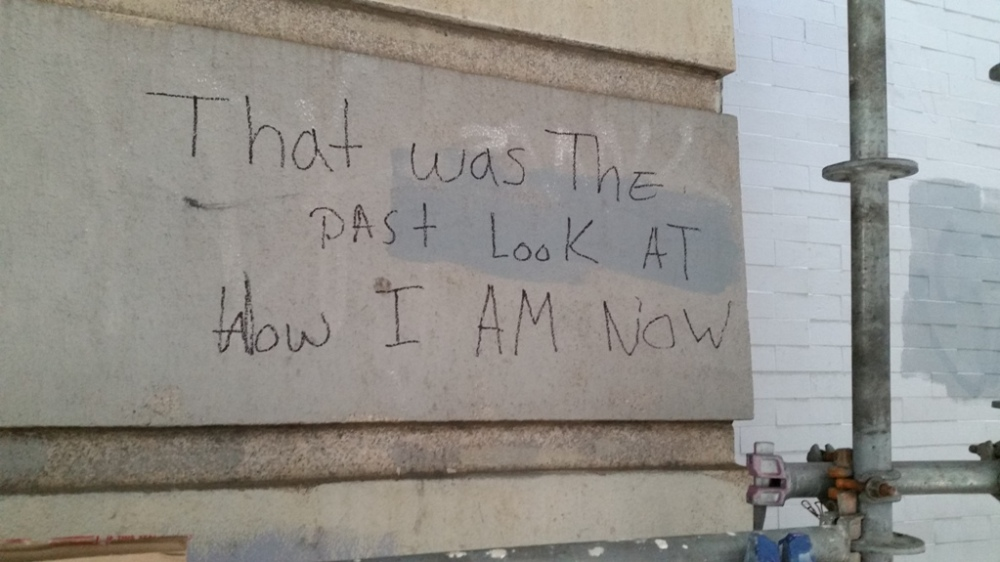 that was the past