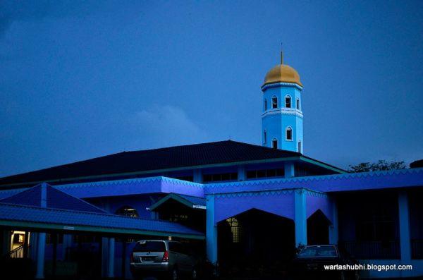 Masjid Jamek Segamat at Dawn