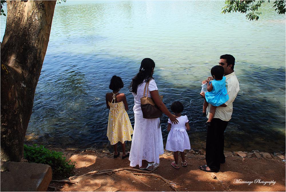 Jour de fête à Kandy