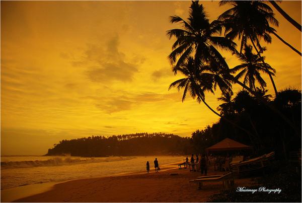 Sunset paradise...