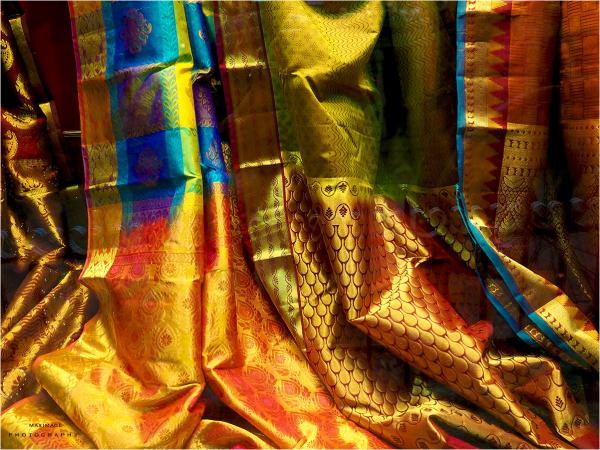 Lumineuse soie indienne...
