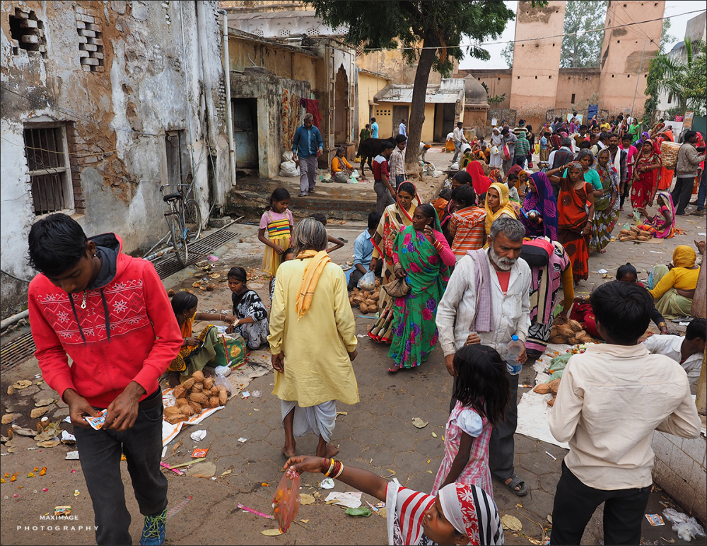 Scène de vie indienne...