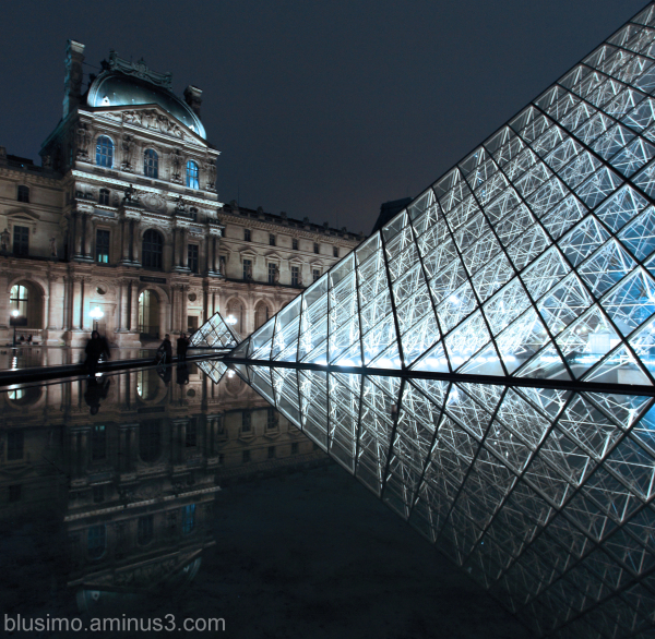 Louvre ghosts'