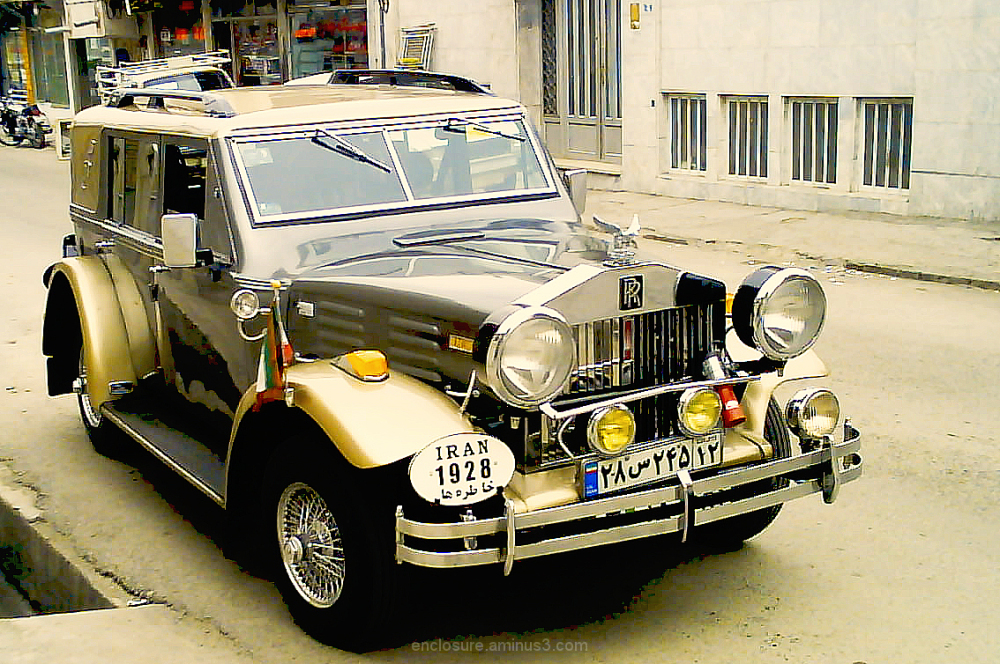 """Khatere-ha"" car in Iran, Mashad"