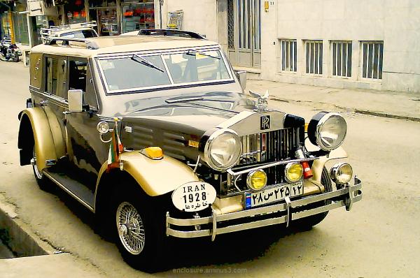 """Khatere-ha"" car in Iran, Mashad"