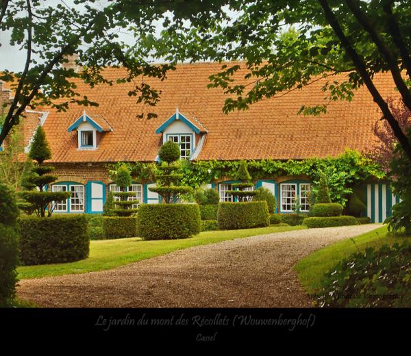 Le jardin du mont des Récollets (2)