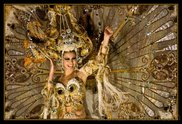 The Carnival Queen of Sta Cruz de tenerife 2011