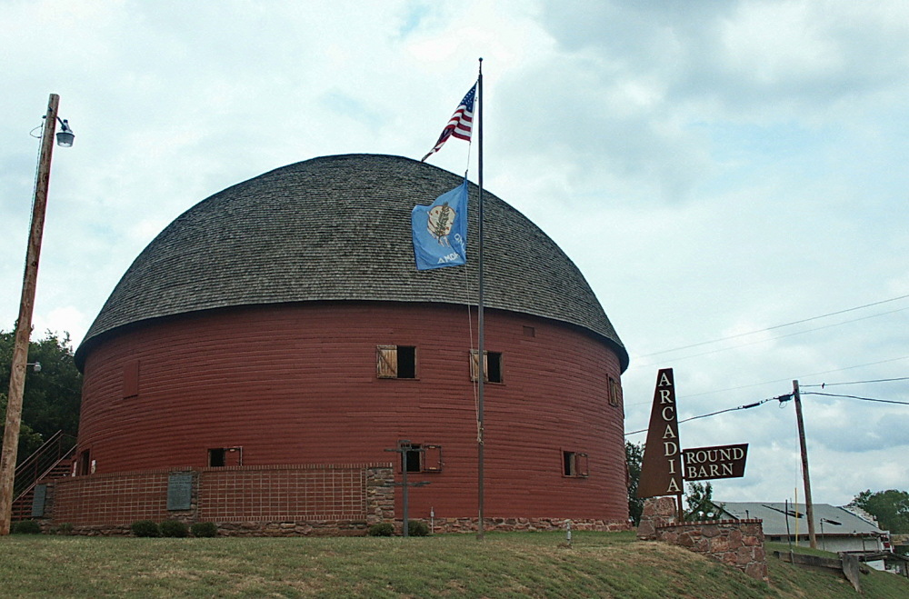 Round Barn ( Arcadia, OK)