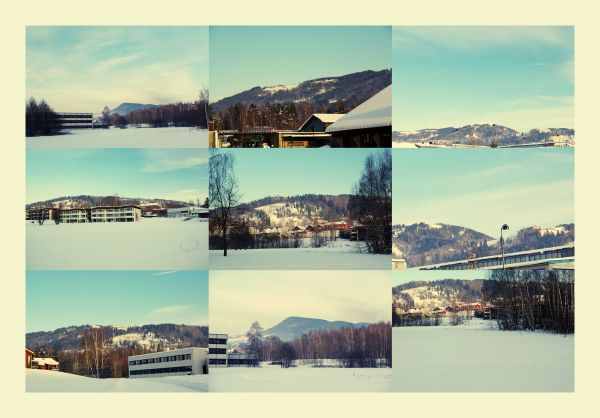ugi norway norge landscape winter cold snow