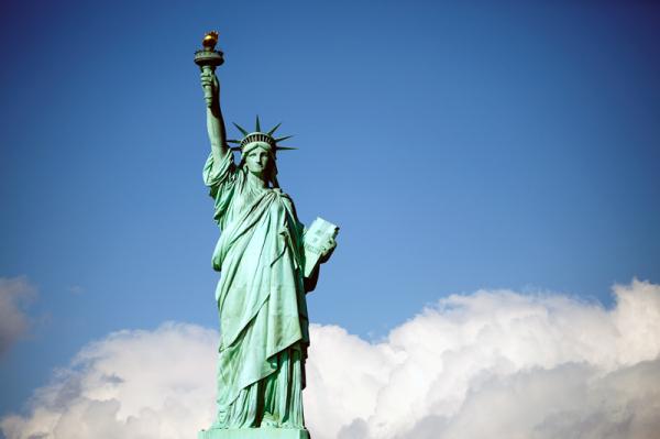 NewYork, Liberty Island, October 2010.