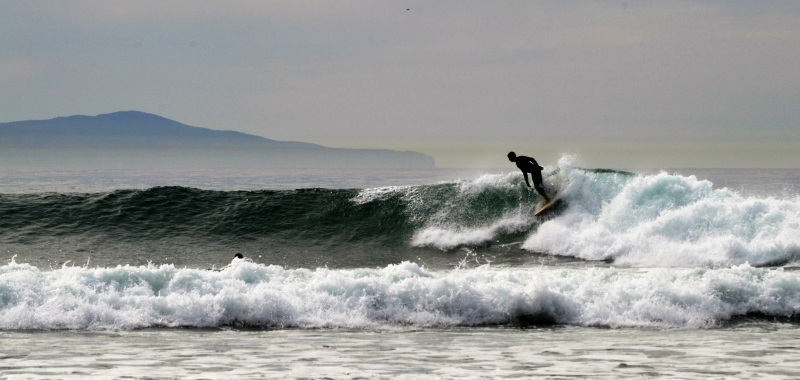 Dropping in at Rincon