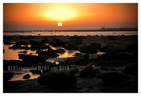 photos of sunset,bushehr,iran,sea,beach