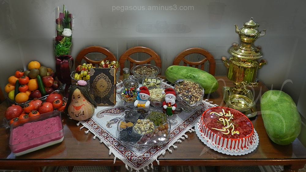 Old  Tradition ( yalda  night )            رسم کهن