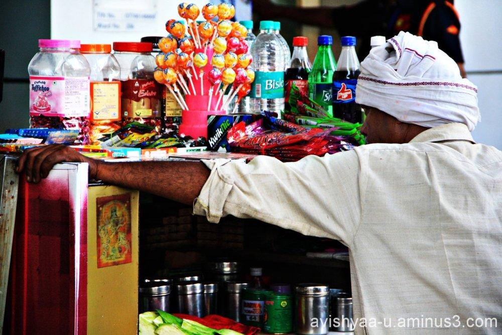 Street vendors in Delhi