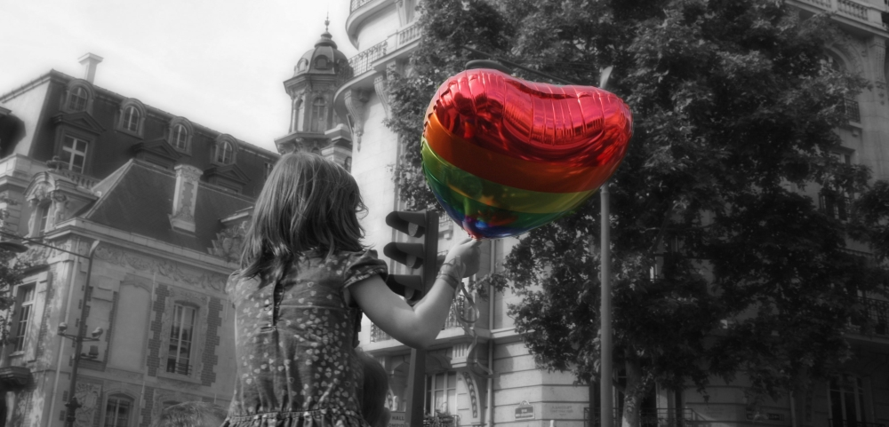 Un coeur de couleurs