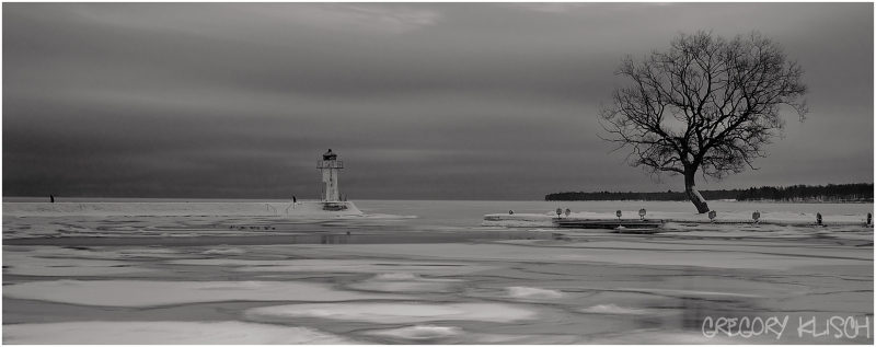 Winter on Lake Vattern