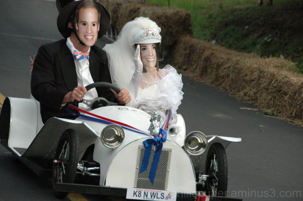 Kate & Wills trolley derby