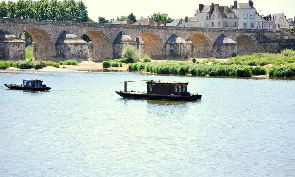 La Loire à Gien .
