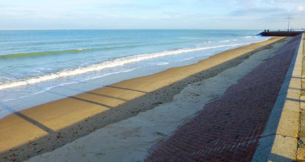 La jetée de Boulogne sur Mer .