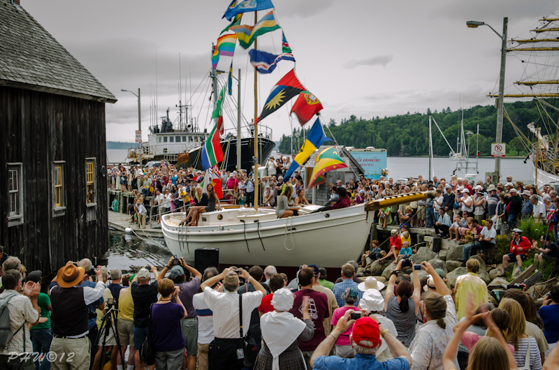 Schooner Launch