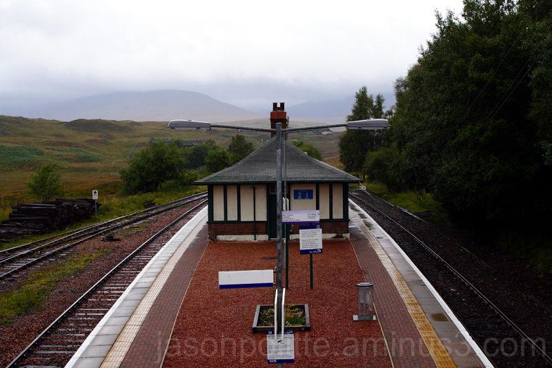 Rannoch Train Station