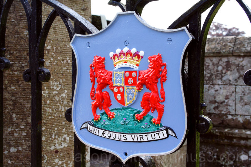 Scone Palace Coat of Arms